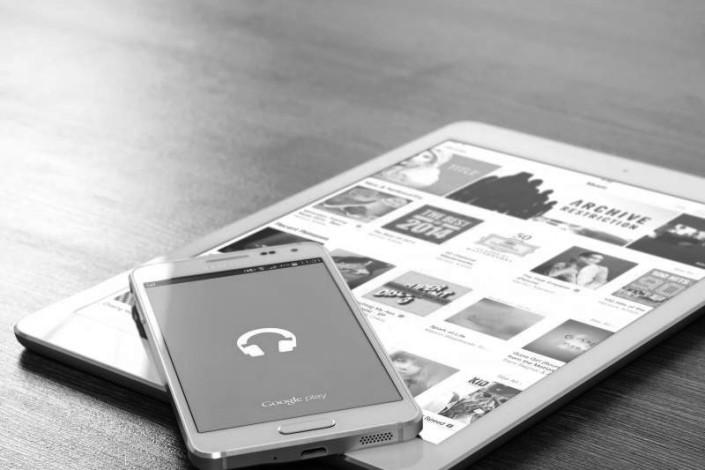 Smartphone und Tablet